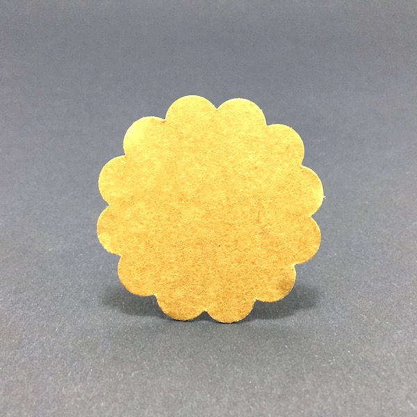 Etiqueta Kraft 4,5cm / Craft Label 4,5 mod. 24