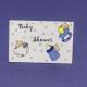 Etiqueta Baby Shower mod 3 med 4,5cm x 3cm