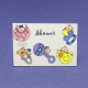 Etiqueta Baby Shower mod 5 med 4cm x 2,8cm