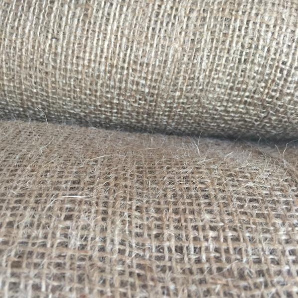 Tela de arpillera o yute 7 onzas / Jute cloth med. 1m