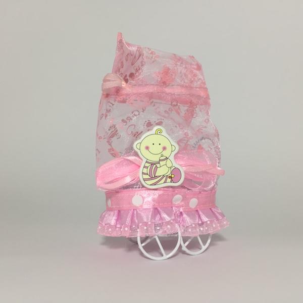Carrito bolsa rosa