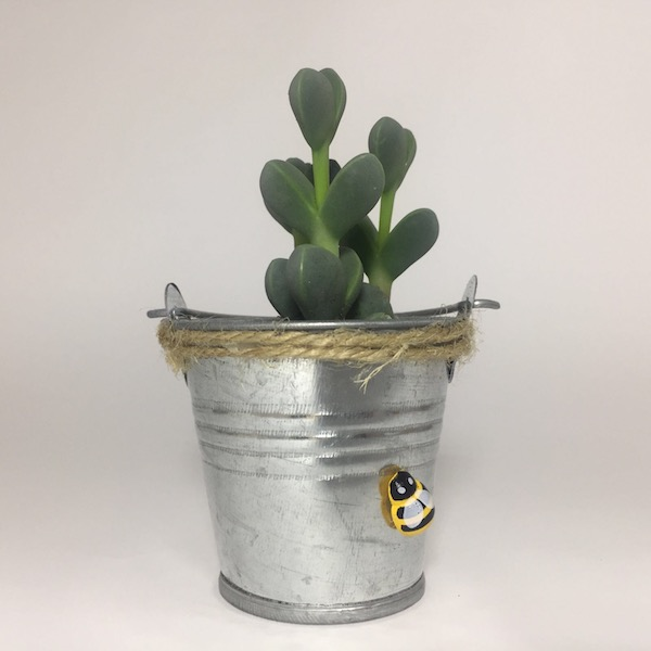 Cubo Rural Abeja / Country Tub Bee